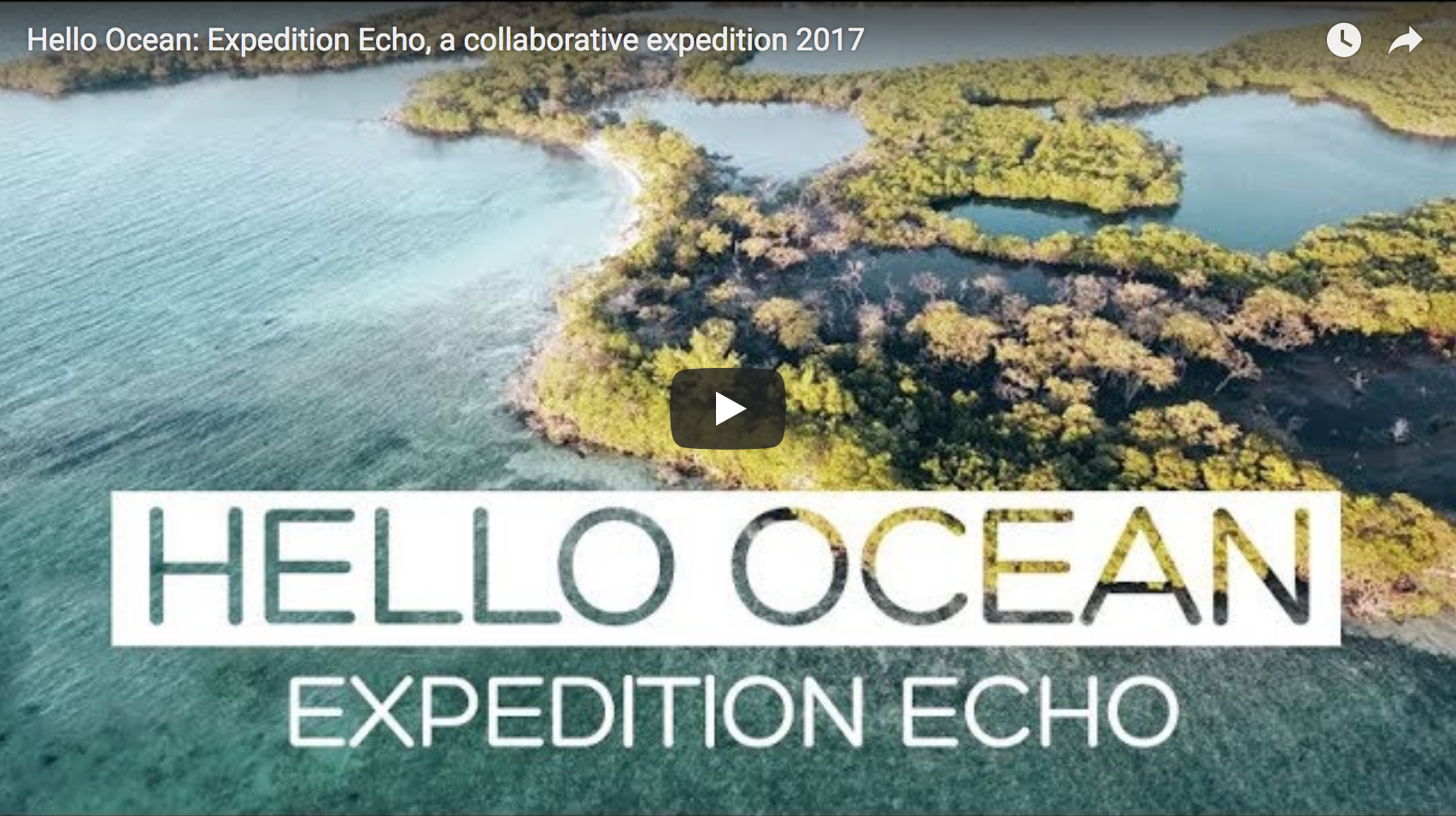 Hello Ocean: Expedition Echo