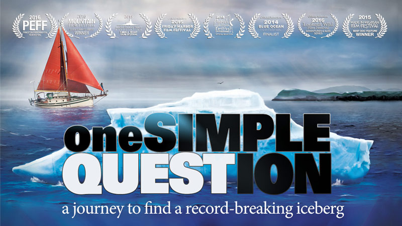One Simple Question - an uncertain journey to find an iceberg
